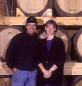 Louis and Margaret Chatey, owners of Westford Hill Distillers